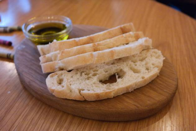 Hixster in Bankside, London - bread