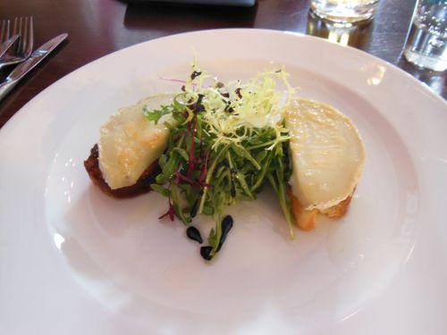 House on the Hill, Sevenoaks - Goats Cheese Crostini