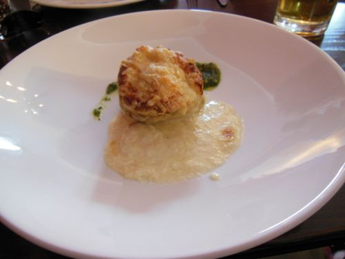 House on the Hill, Sevenoaks - Parmesan Cheese Souffle