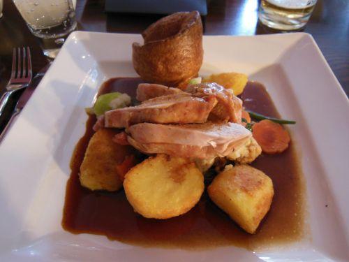 House on the Hill, Sevenoaks - Roast Chicken