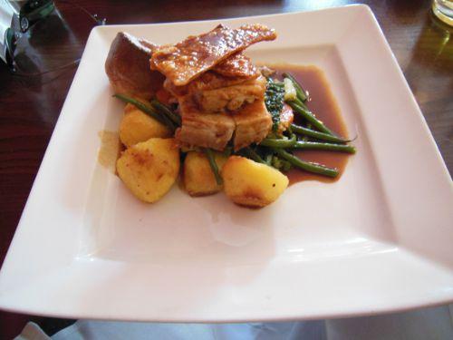 House on the Hill, Sevenoaks - Roast Pork Belly