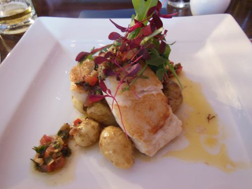 House on the Hill, Sevenoaks - Roasted Cod Fillet
