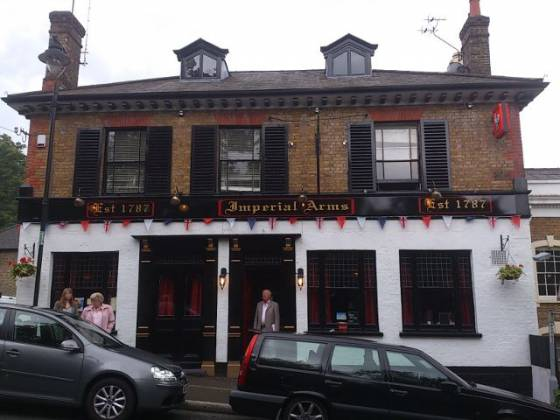 The Imperial Arms, Chislehurst in Bromley, Kent