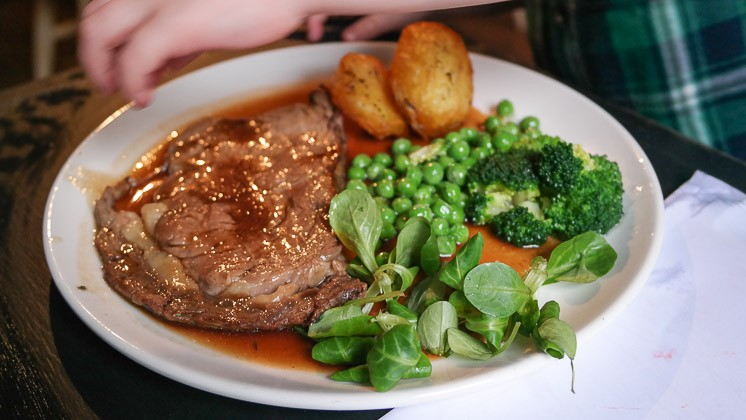 Kid's Roast Beef - Bel and Dragon in Kingsclear, Newbury