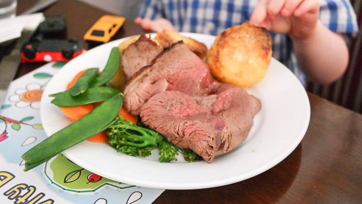 Kids Roast Beef - The Rose and Crown, Pluckley, Kent