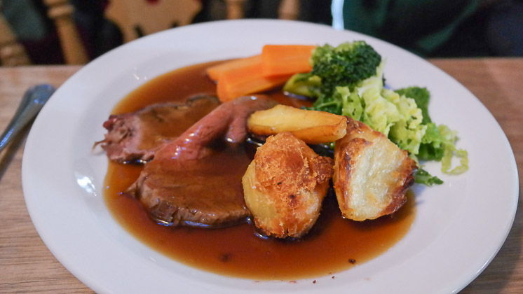 Kids Roast Beef - The Two Brewers in Shoreham near Sevenoaks, Kent