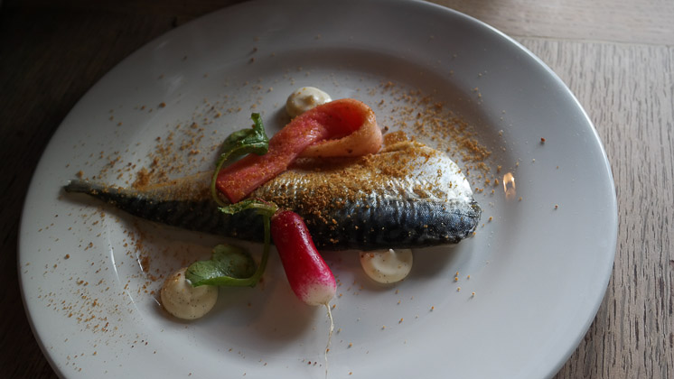 Mackerel Starter- The George and Dragon, Speldhurst in Royal Tunbridge Wells, Kent