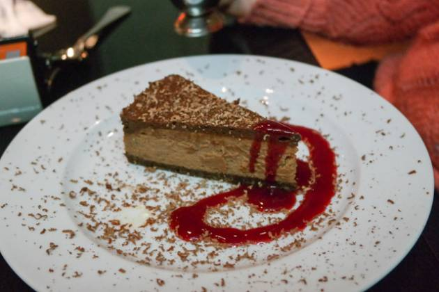 Malmaison in Charterhouse Square, London - Chocolate Cheesecake
