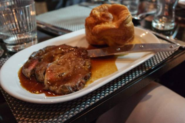 Malmaison in Charterhouse Square, London - Roast Beef