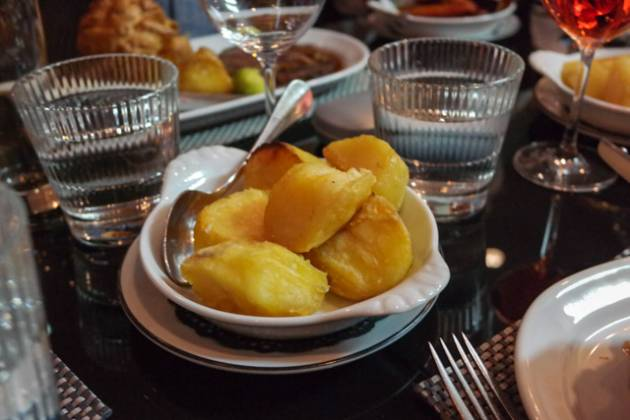 Malmaison in Charterhouse Square, London - Roast Potatoes