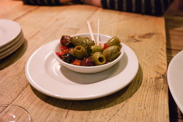Olives - Ye Olde Greene Manne, Rickmansworth