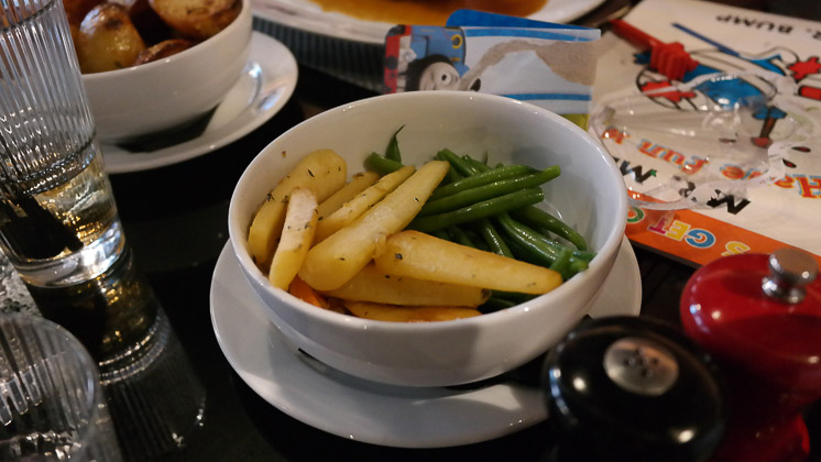 Parsnips & Beans - Malmaison in Reading, Berkshire