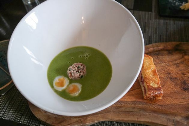 Pea & Ham Soup - The Barn in Gillingham, Kent