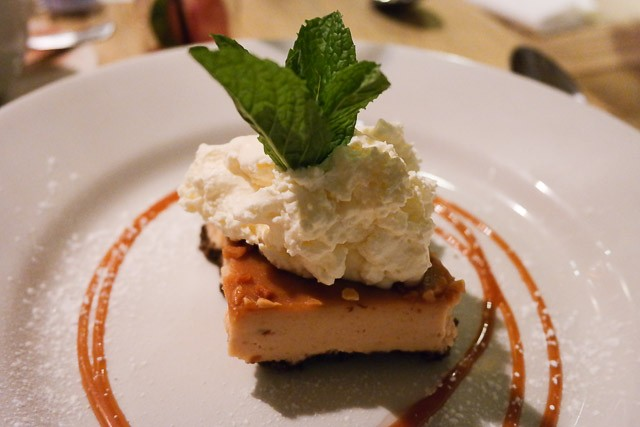 Peanut butter Cheesecake - Ye Olde Greene Manne, Rickmansworth