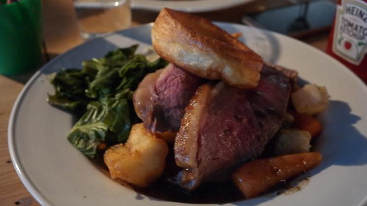 Roast Beef - Bridge House in Penge, London
