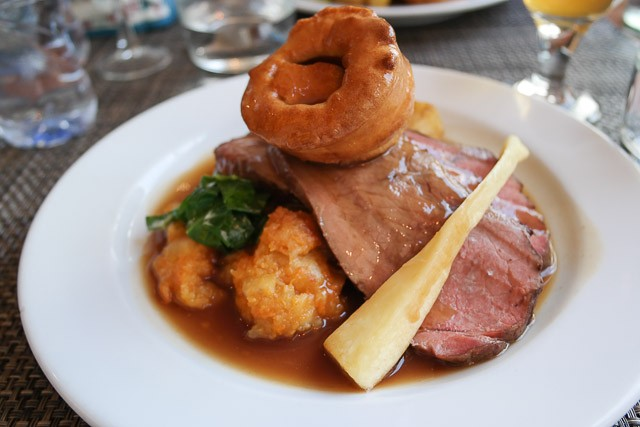 Roast Beef - Charlotte's Bistro in Chiswick, London