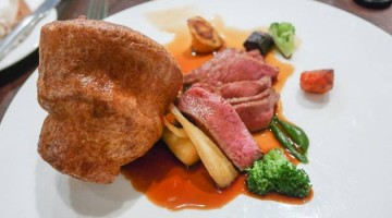 Roast Beef - Country Restaurant at Abode, Canterbury in Kent