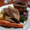 Roast Beef - The Baring Hall, Grove Park in Lewisham, London