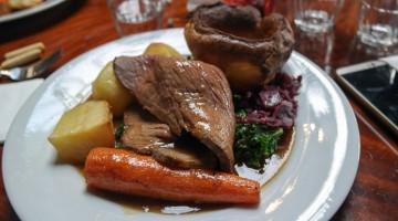 Roast Beef - The Baring Hall, Grove Park in Lewisham, London