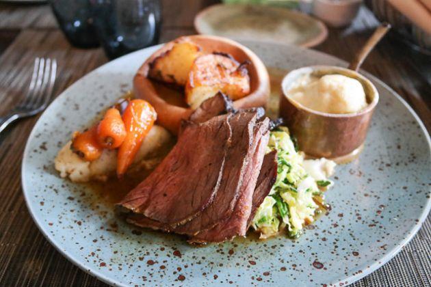 Roast Beef - The Barn in Gillingham, Kent
