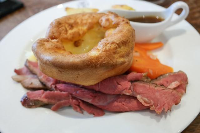 Roast Beef - The British Queen Brasserie, Farnborough in Bromley, Kent
