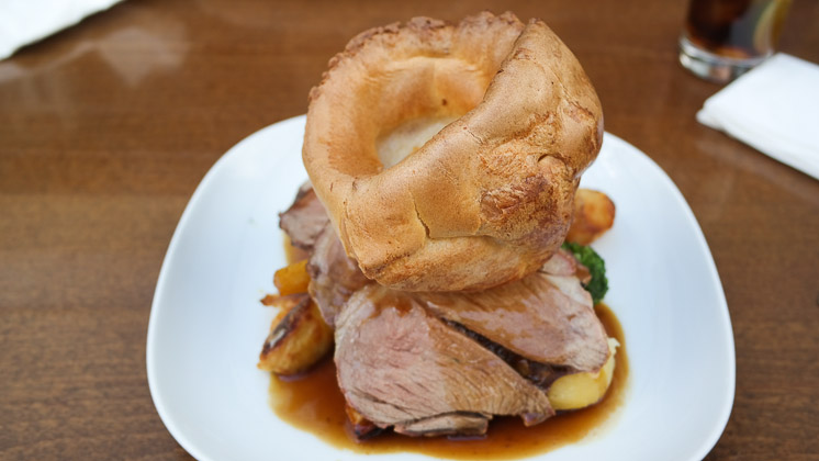 Roast Beef - The Crown and Anchor, Bromley Kent