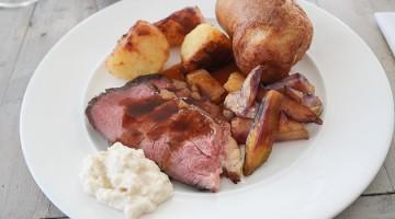 Roast Beef - The Gallivant, Camber near Rye, Kent