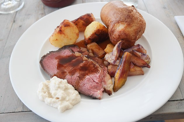 Roast Beef - The Gallivant, Camber near Rye, Kent