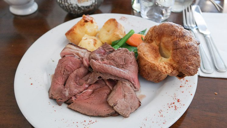 Roast Beef - The Rose and Crown, Pluckley, Kent
