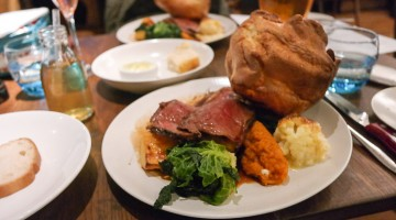 Roast Beef - The Swan, West Malling in Kent