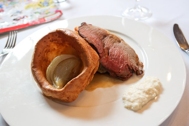 Roast Beef - The Swan at Lavenham,, Suffolk
