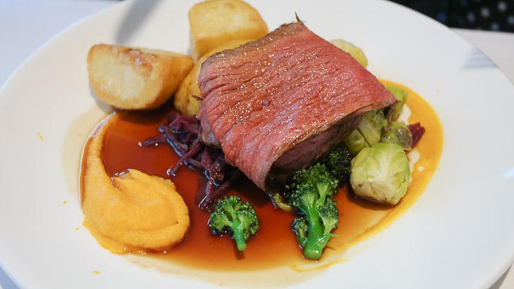 Roast Beef - The Vine Restaurant in Sevenoaks, Kent