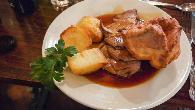Roast Beef - The White Rock Inn, Sevenoaks in Kent