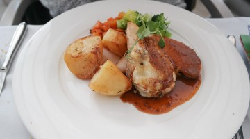 Roast Chicken - Bromley Court Hotel, Bromley in Kent