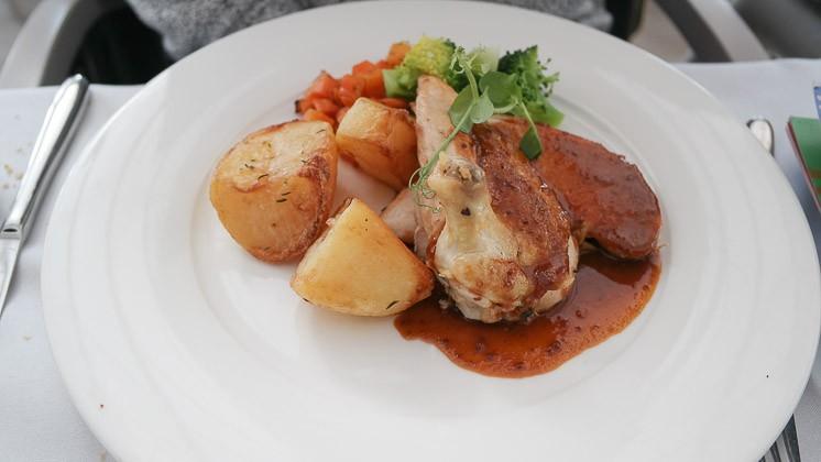 Roast Chicken - Bromley Court Hotel, Bromley in Kent