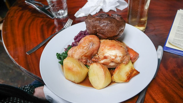 Roast Chicken - The Baring Hall, Grove Park in Lewisham, London