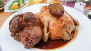 Roast Chicken - The Bulls Head Hotel, Bromley