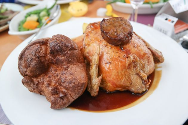Roast Chicken - The Bulls Head Hotel, Bromley
