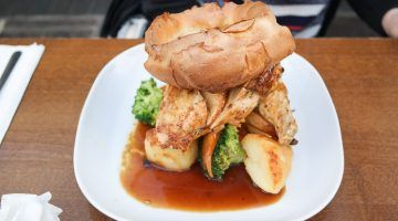 Roast Chicken - The Crown and Anchor, Bromley Kent
