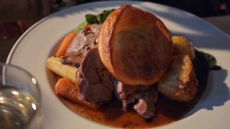 Roast Lamb - Bridge House in Penge, London