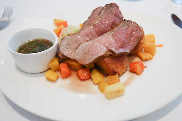 Roast Lamb - East Coast Dining Room, Tankterton nr Canterbury, K