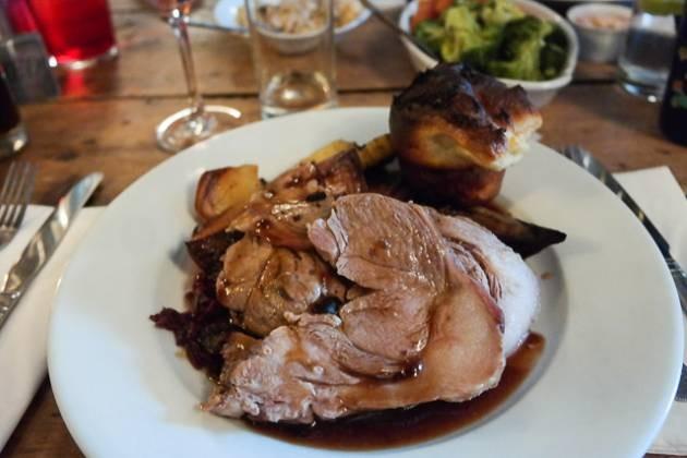 Roast Lamb - The George, Egerton in Ashford, Kent
