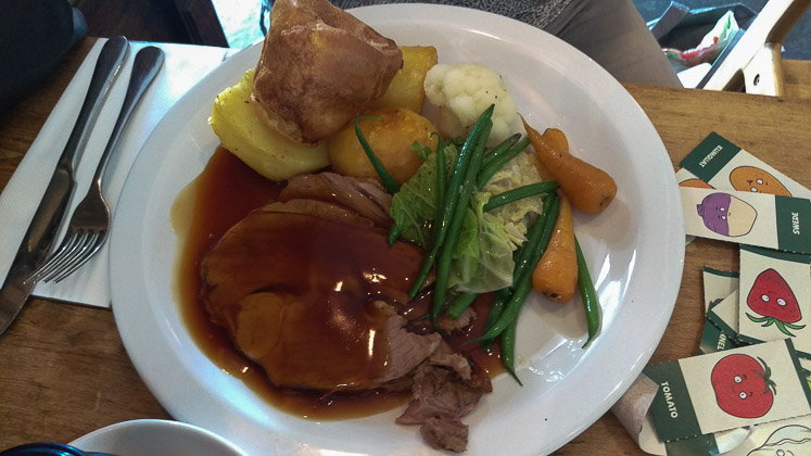 Roast Lamb - The Poacher & Partridge, Tudeley in Tonbridge, Kent