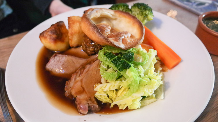 Roast Lamb - The Two Brewers in Shoreham near Sevenoaks, Kent