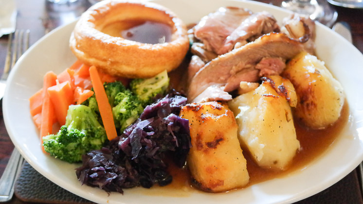 Roast Lamb - Theydon Oak, Epping in Essex