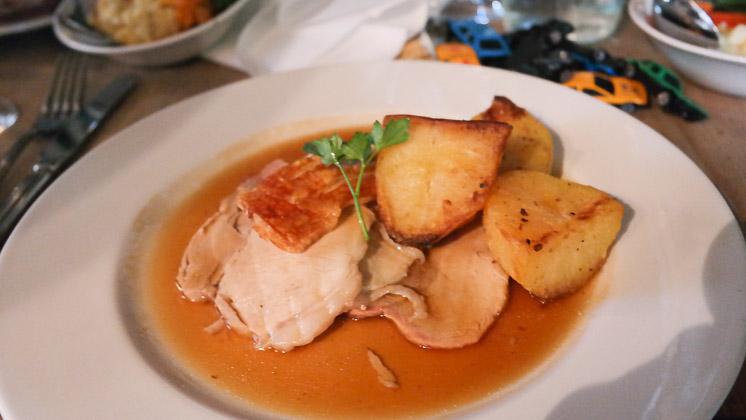 Roast Pork - The Three Chimneys, Biddenden in Ashford, Kent