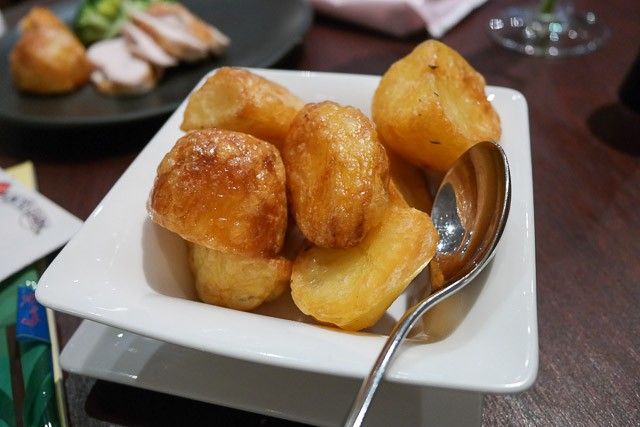 Roast Potatoes - Country Restaurant at Abode, Canterbury in Kent