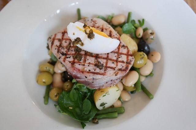 Seared Tuna Steak - The Milk House, Sissinghurst