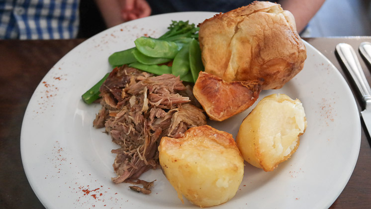 Slow Cooked Lamb - The Rose and Crown, Pluckley, Kent