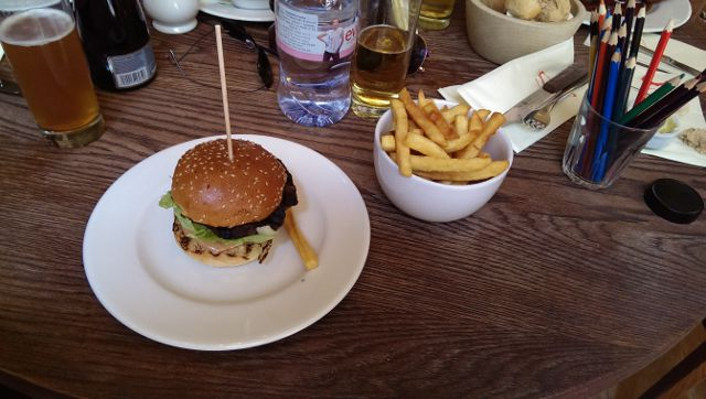 Sophies Steakhouse, Covent Garden in London - Classic Burger